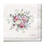 Greengate Papier-Servietten gross Aurelia white