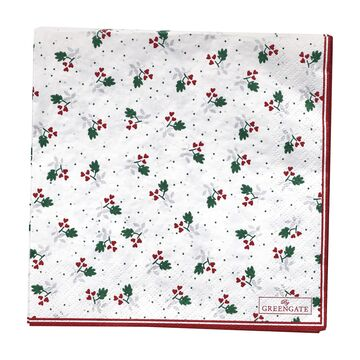 Greengate Papier-Servietten gross Joselyn white
