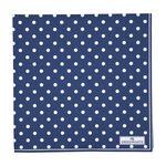 Greengate Papier-Servietten gross Spot blue
