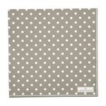 Greengate Papier-Servietten gross Spot grey