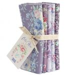 Tilda Fat Quarter Bundle Old Rose, lilac/lavender
