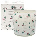 Greengate Duftkerze Joselyn white 240 g