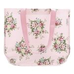 Greengate Shopper rund Aurelia pale pink