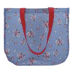 Greengate Shopper rund Nicoline dusty blue