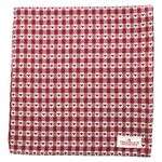 Greengate Tischdecke Heart petit red, 145 x 250 cm