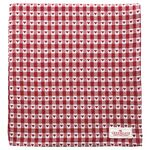 Greengate Tischdecke Heart petit red 150 x150 cm