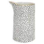 Greengate Krug Dot black with gold 1L