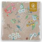 Pip Studio Papierservietten Hummingbirds khaki