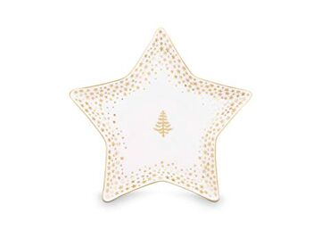 Pip Studio Teller Petit Four Royal Christmas 9.3x4.5 cm