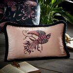 Emma J Shipley Kissen Audubon rectangle pink bestickt...