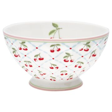 Greengate Schale (French Bowl) xlarge Cherie white