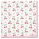 Greengate Papier-Servietten gross Cherie white