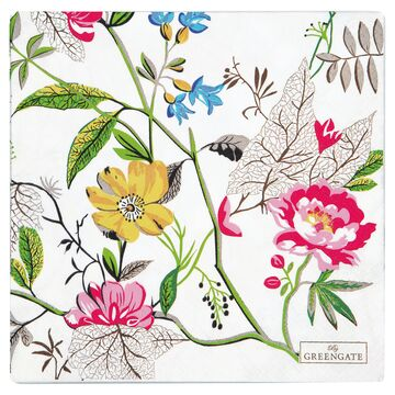 Greengate Papier-Servietten gross Ellen white