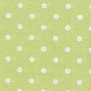 Au Maison Wachstuch Dots Big Dusty Green