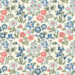 Liberty Stoff Lawn Games blue
