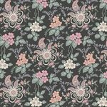 Liberty Stoff Fireside pink/green