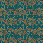 Liberty Stoff Nouveau Mayflower, dark green