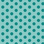 Tilda Stoff Medium Dots Dark Teal