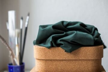 Meet MILK Tencel Jersey, Deep Green
