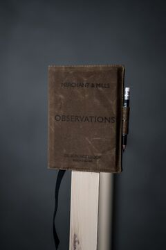 Merchant & Mills Observation Notebook