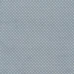 Au Maison Stoff Dots dusty blue