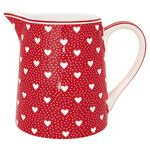 Greengate Krug Penny red 0.5L