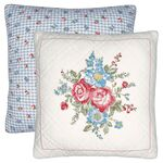 Greengate Quilt-Kissenhülle Henrietta white w/embroidery...