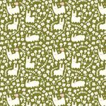 Birch Bio-Interlock/Jersey Stoff Bunny Meadow, moss