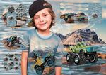 Stenzo Jersey Stoff Monstertrucks, Rapport 75 cm