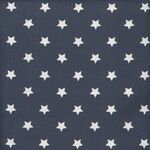 Au Maison Stoff Star Big Midnight Blue