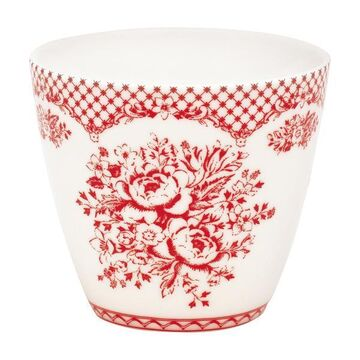 Greengate Latte Cup Stephanie red