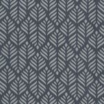 Au Maison Wachstuch Trigo Dusty Blue / Midnight Blue