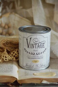 Jeanne d'Arc Living Paint Vintage Tea (Ockergelb)