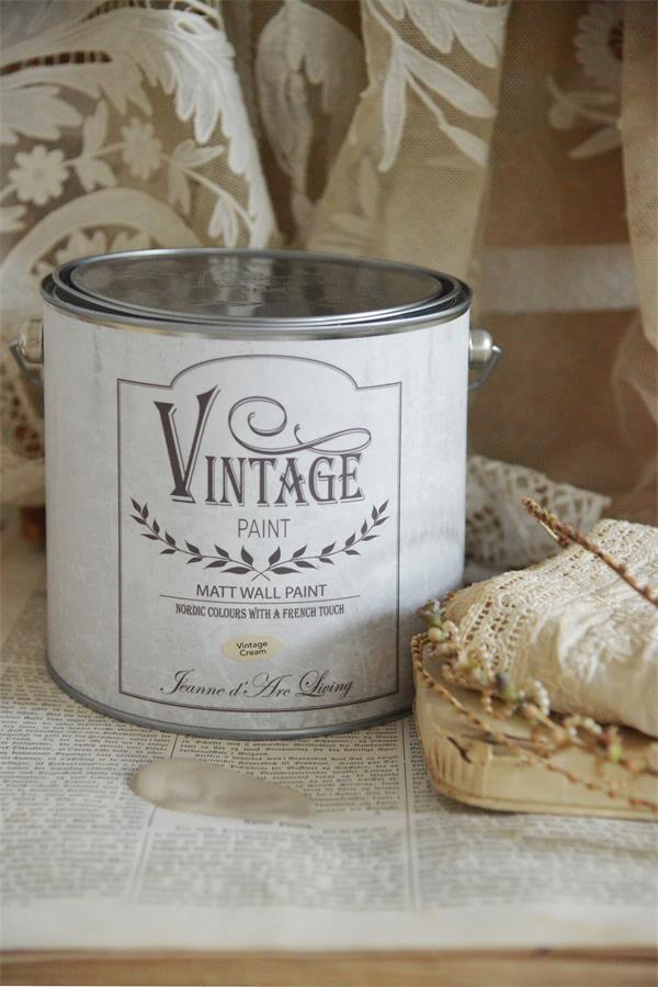 Jeanne D Arc Living Wandfarbe Vintage Cream