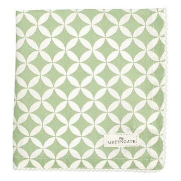 Greengate Stoffserviette Mai green
