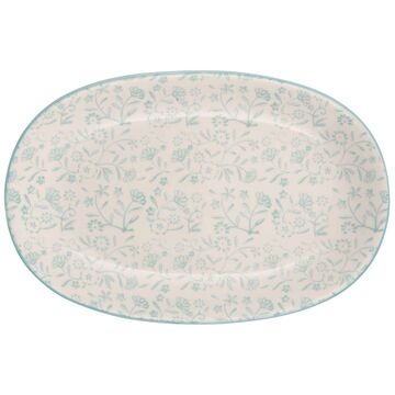 IB Laursen Tablett oval Ida mint-grün