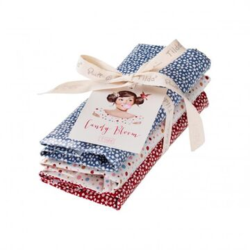 Tilda Fat Quarter Bundle Candy Bloom LIMITED, 3er Set