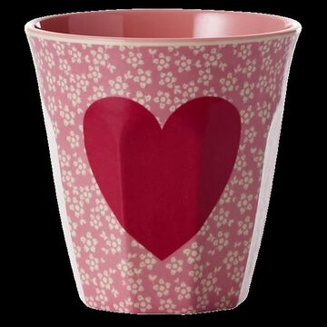 Rice Melamin Becher medium Heart