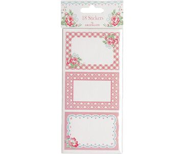 Greengate Stickers Abelone white