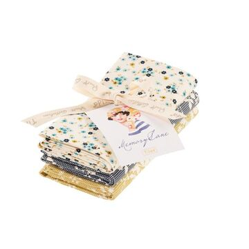 Tilda Fat Quarter Bundle Memory Lane, 3er Set