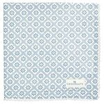 Greengate Stoffserviette Bianca dusty blue