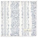 Greengate Stoffserviette Jenny dusty blue