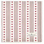 Greengate Stoffserviette Micha red