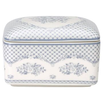 Greengate Butter Box Stephanie dusty blue