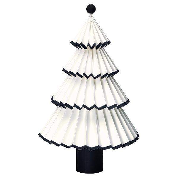 Weihnachtsbaum Schwarz.Greengate Papier Weihnachtsbaum Nova Weiss Schwarz 42cm