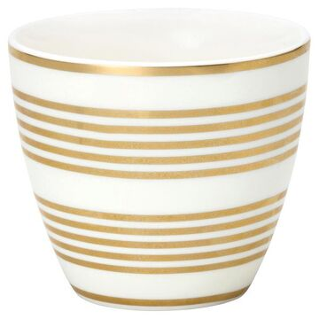 Greengate Latte Cup Thiana gold