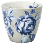 Greengate Latte Cup Amanda dark blue