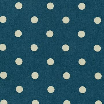 Au Maison Stoff Dots Big Dusty Petrol/ Spring Green